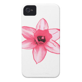 Cactus Pink Flower Template increase decrease size iPhone 4 Case-Mate Case