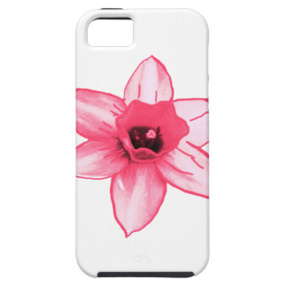 Cactus Pink Flower Template increase decrease size iPhone 5 Case