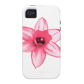 Cactus Pink Flower Template increase decrease size Case For The iPhone 4