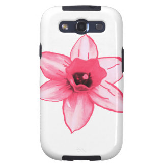 Cactus Pink Flower Template increase decrease size Galaxy SIII Covers