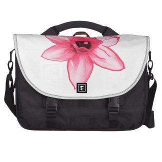 Cactus Pink Flower Template increase decrease size Laptop Computer Bag