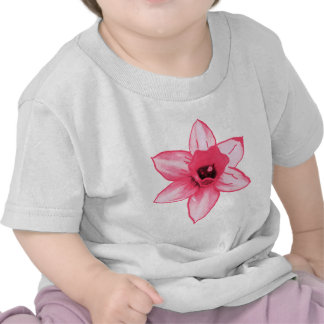 Cactus Pink Flower Template increase decrease size T-shirt