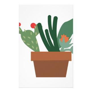 Cactus Plants Stationery