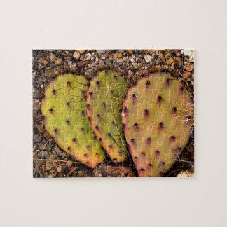 Cactus Portrait Photograph Jigsaw Puzzle