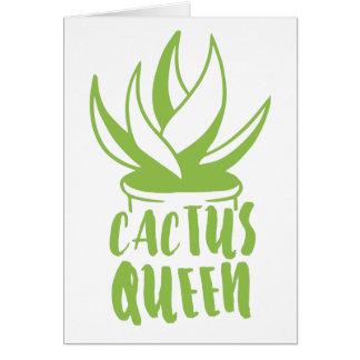 cactus queen card