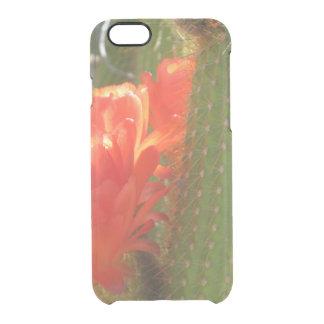 Cactus rojo de la antorcha funda clearly™ deflector para iPhone 6 de uncommon
