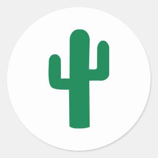 Cactus Round Stickers