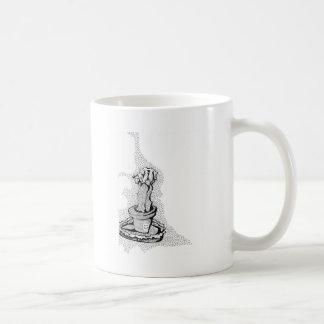 Cactus series classic white coffee mug