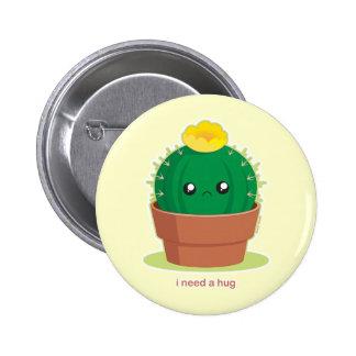 Cactus solo pin redondo 5 cm