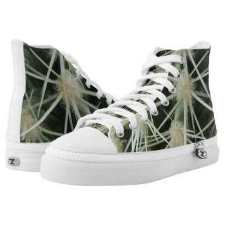 Cactus Spines High-Top Sneakers