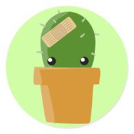 Cactus Stickers!