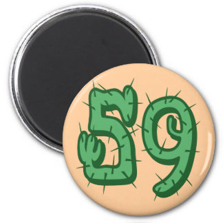 CACTUS STYLE NUMBER 59 MAGNET