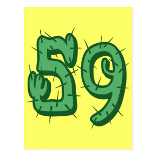 CACTUS STYLE NUMBER 59 POSTCARD