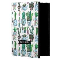 Cactus Succulent plants pattern   iPad Air 2 Case Powis iPad Air 2 Case
