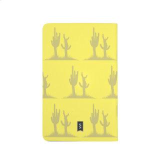 Cactus tan yellow journal