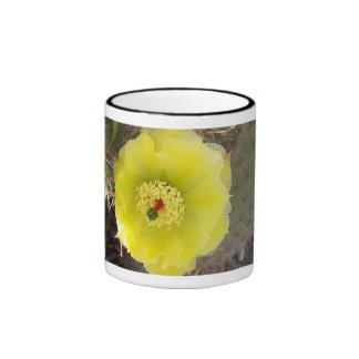 Cactus Taza A Dos Colores