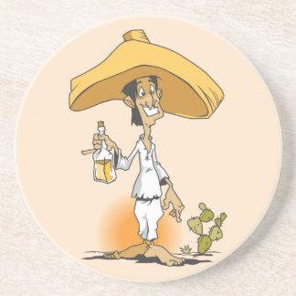Cactus & Tequila Beverage Coasters