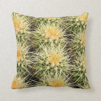 Cactus throw pillow by Debra Lee Baldwin