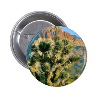 Cactus Tree Pinback Buttons