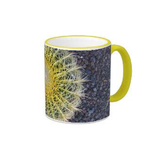 Cactus Tropical Botanical Plant Photo Ringer Coffee Mug