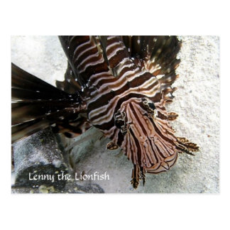 Cactus Voyager - Lenny the LionFish Postcard