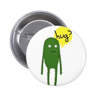 cactus wants some love pin