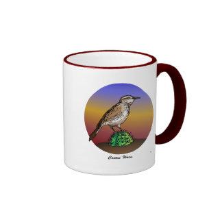 Cactus Wren rev.2.0 Mugs & Mousepads