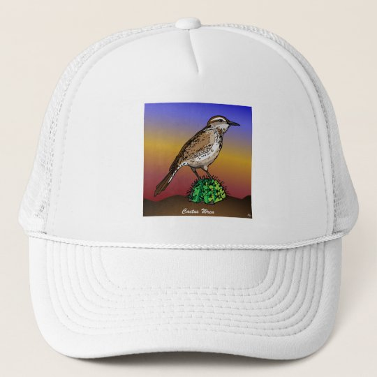 Cactus Wren rev.2.0 Shirts and Apparel Trucker Hat