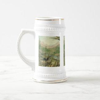 Cactus Wren Southwestern Stein Mug