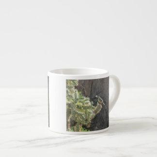 Cactus Wren Espresso Mug