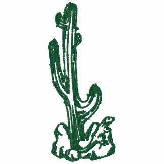 Cactus y camisa bordada lagarto