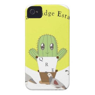 Cactus y codornices iPhone 4 Case-Mate carcasa