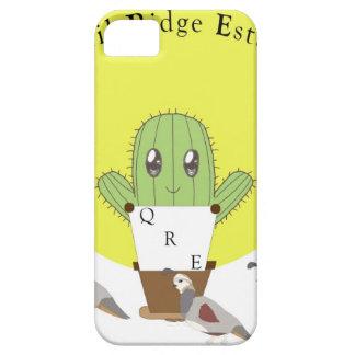 Cactus y codornices iPhone 5 carcasa