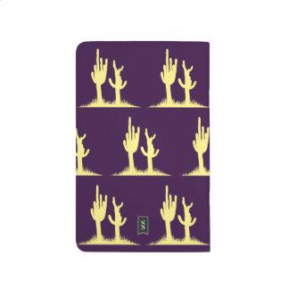 Cactus Yellow Purple Journal