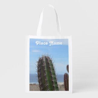 Cactus Reusable Grocery Bag
