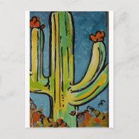 cactuscard postcard