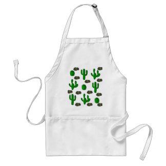 Cactuses 3 adult apron