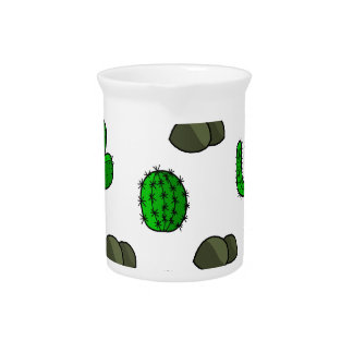 Cactuses 3 drink pitchers
