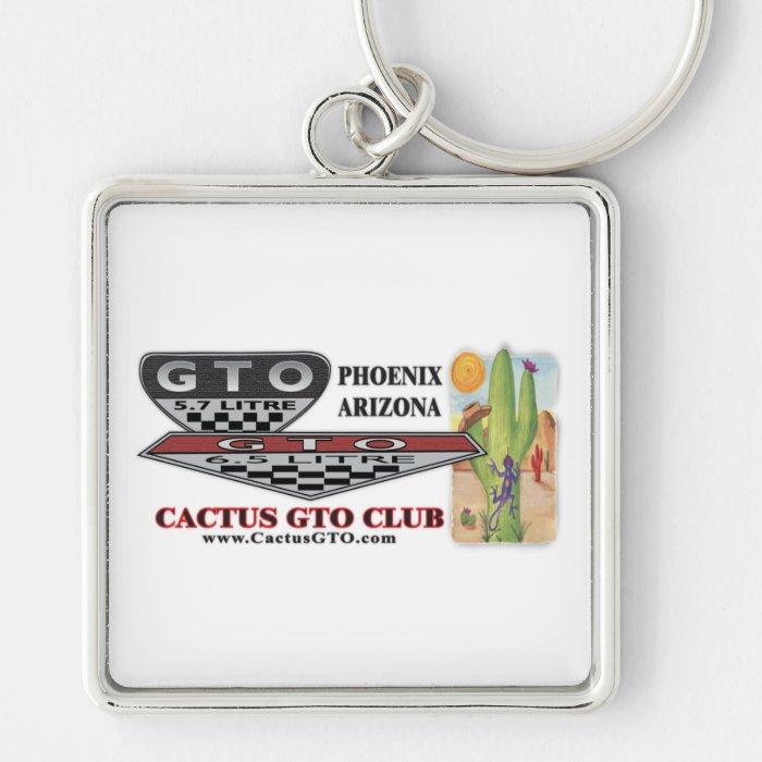 CactusGTO Club Keychain