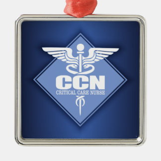 Cad CCN (diamond) Metal Ornament