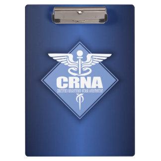 Cad CRNA (diamond) Clipboard