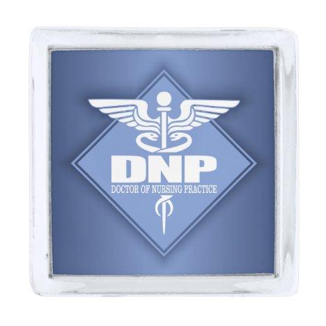 Cad DNP (diamond) Silver Finish Lapel Pin