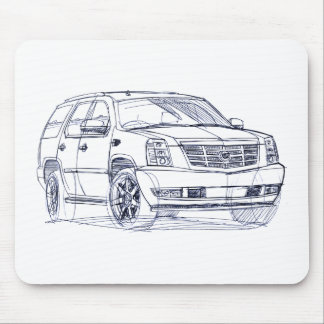 Cad Escalade 2007 Mouse Pad