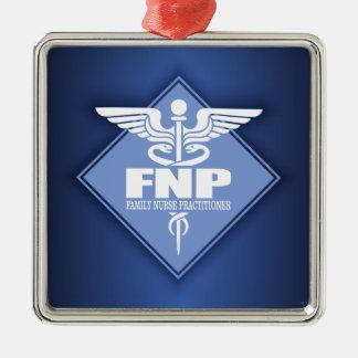 Cad FNP (diamond) Metal Ornament