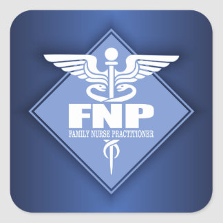 Cad FNP (diamond) Square Sticker