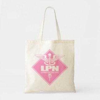 Cad LPN (pk diamond) Tote Bag