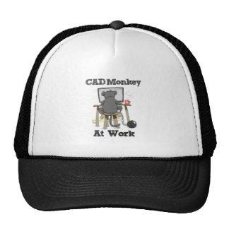 CAD Monkey AT Work Trucker Hat