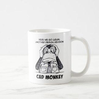 CAD Monkey Hear No Evil Coffee Mug