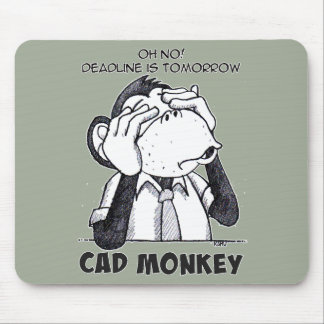 Cad Monkey See No Evil Mousepad