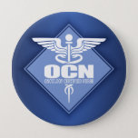 "Cad OCN (diamond) Pinback Button<br><div class=""desc"">Oncology Certified Nurse</div>"